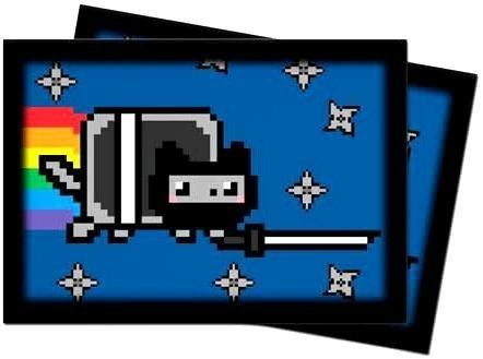 NinjaNyan Nyan Cat Small Deck Protector Sleeves by Ultra Pro