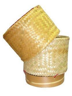 bamboo rice basket - 3