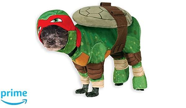 RubieS Disfraz Oficial para Perro, Raphael, Tortugas Ninja ...
