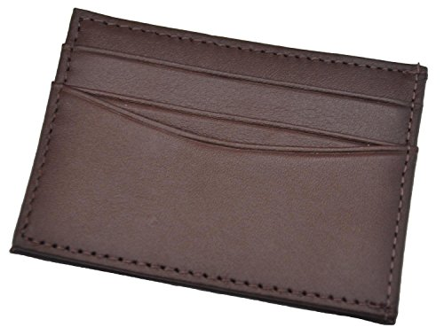Royce Leather Men's Top Grain Nappa Leather Magnetic Money Clip Wallet And Cr...