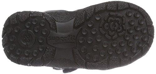 Doublure Schwarz Bottes Noir Kombi de Fille de Neige Fairy Schwarz Moyenne 02 Chaude Hauteur Superfit qFPv05gg