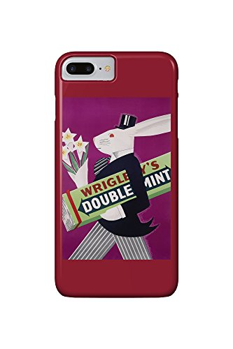 wrigleys-doublemint-rabbit-with-flowers-vintage-poster-usa-c-1934-iphone-7-plus-cell-phone-case-slim