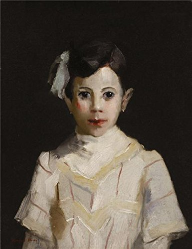 Oil Painting 'Randall Davey,Spanish Child In White,ca.1912' Printing On High Quality Polyster Canvas , 30x39 Inch / 76x99 Cm ,the Best Laundry Room Artwork And Home Decoration And Gifts Is ()