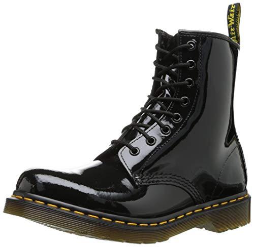 Dr. Marten's Women's 1460 8-Eye Patent Leather Boots, Black Patent Lamper, 5 F(M) UK / 7 B(M) US Women / 6 D(M) US Men]()
