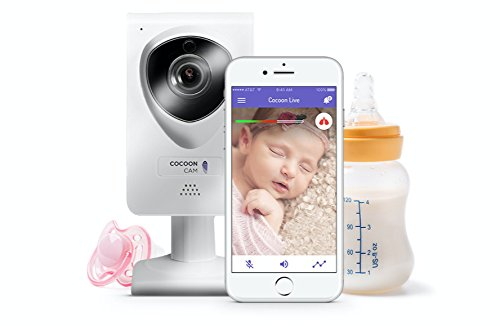 Cocoon Cam Baby Video Monitor with Breathing Detection, Real-Time Alerts, and 2 Way Audio