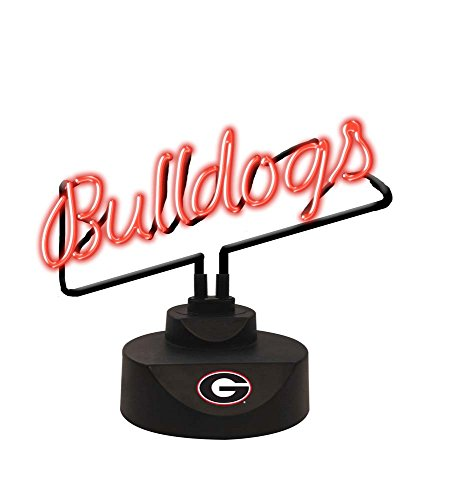 NCAA University of Georgia Script Neon Sign, One Size, Multicolor (Lakers Nba Neon Sign)