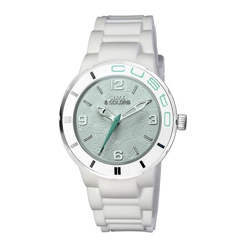 Reloj Watx Custo Rewa1604 Mujer Nácar