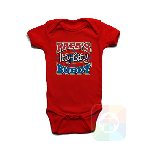Little Bitty Hat - Custom Tshirts and Hats Baby Onesie Papas Little Bitty Buddy - 8305