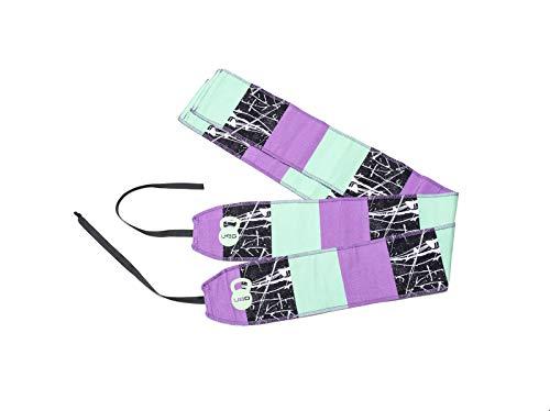 Unbroken Designs Block Party Wrist Wraps (Unbroken Designs)