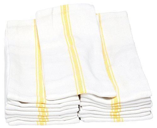 Generic 5 PACK Classic Kitchen Towels, 100% Natural Cotton, 14 x 25, Commercial Restaurant Grade, by Generic