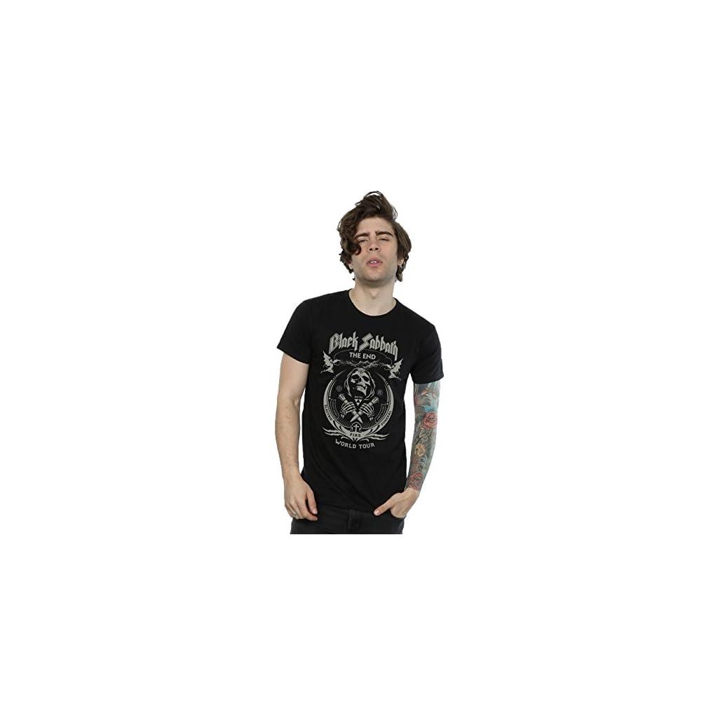 Black Sabbath hombre The End World Tour Camiseta