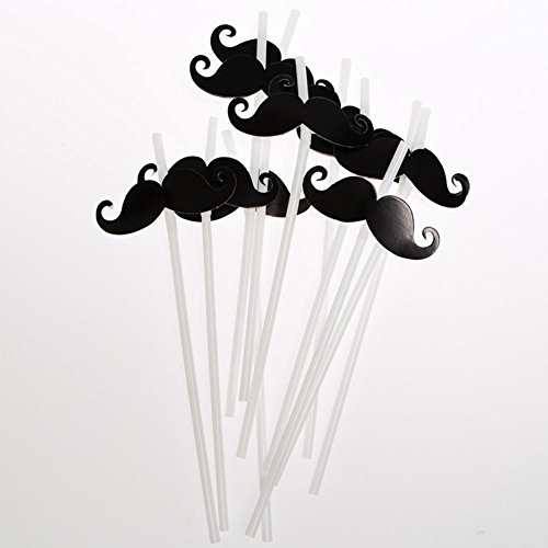 Fun Express 146 2270 Mustache Straws