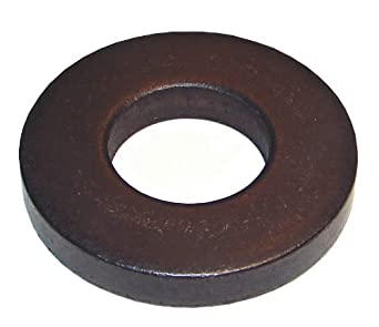 QTY 50 Black Oxide Stainless Steel Flat Washer #8