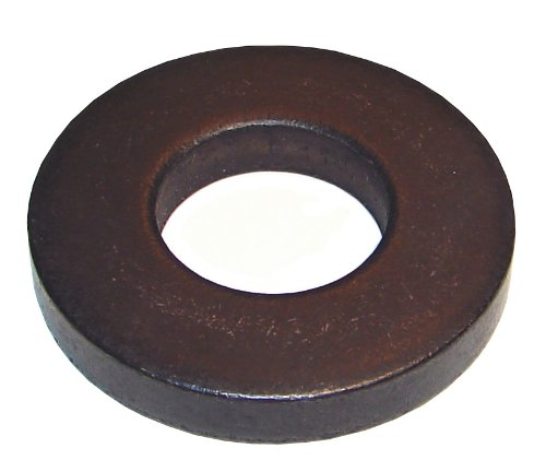 Morton FW-410 Black Oxide Steel Heavy Duty Flat Washer, M10 Bolt Size, 11mm ID x 22mm OD, 5mm Thick (Pack of 10)