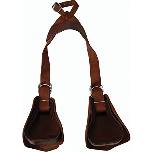 Tough 1 Kids Nylon Slip-On Stirrup Set