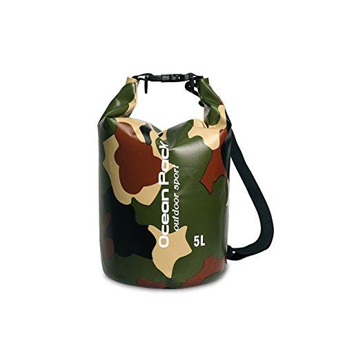 f794092bbd2b DEKINMAX Dry Bag, Floating Waterproof Bag 2L/3L/5L/10L, Roll Top Sack  Shoulder Straps Bag for Tubing Trip, Boating, Floating, Camping, Kayaking,  ...