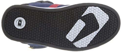 Global Eye Wear Superfly-Kids - Zapatos de cuero para niños Bleu (Blueprint/Black)