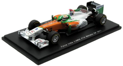 スパーク 1/43 Force India VJM04 No14 Monaco GP 2011 A.Sutil 完成品 B005MZ63I6