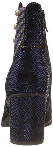 Bleu 05 Vita bleu Delle Donne Stivali Blu Eliane Chelsea Laura q4zwU7w