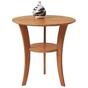 Amazon Com Manchester Wood 22 Quot Round Cherry End Table