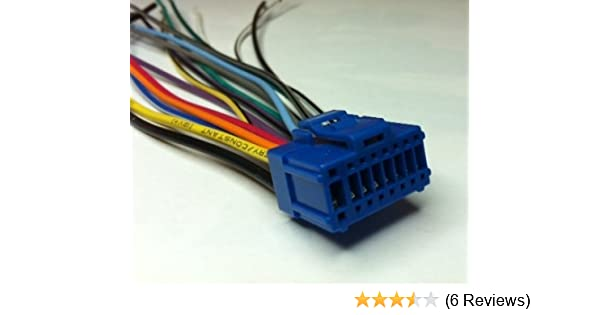 amazon com: xtenzi harness power plug compatible with pioneer avh-p6500dvd  avh-p5200 p5250 cde9141: automotive