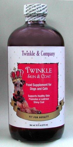 Premium Pet Skin & Coat Food Supplement: GMO free, Cold Pressed Botanical Oils, Wild Harvested Marine Oils (16 oz)