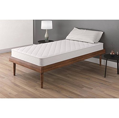 Mattress Twin And Full White Comfort Coil Springs Mainstays 6