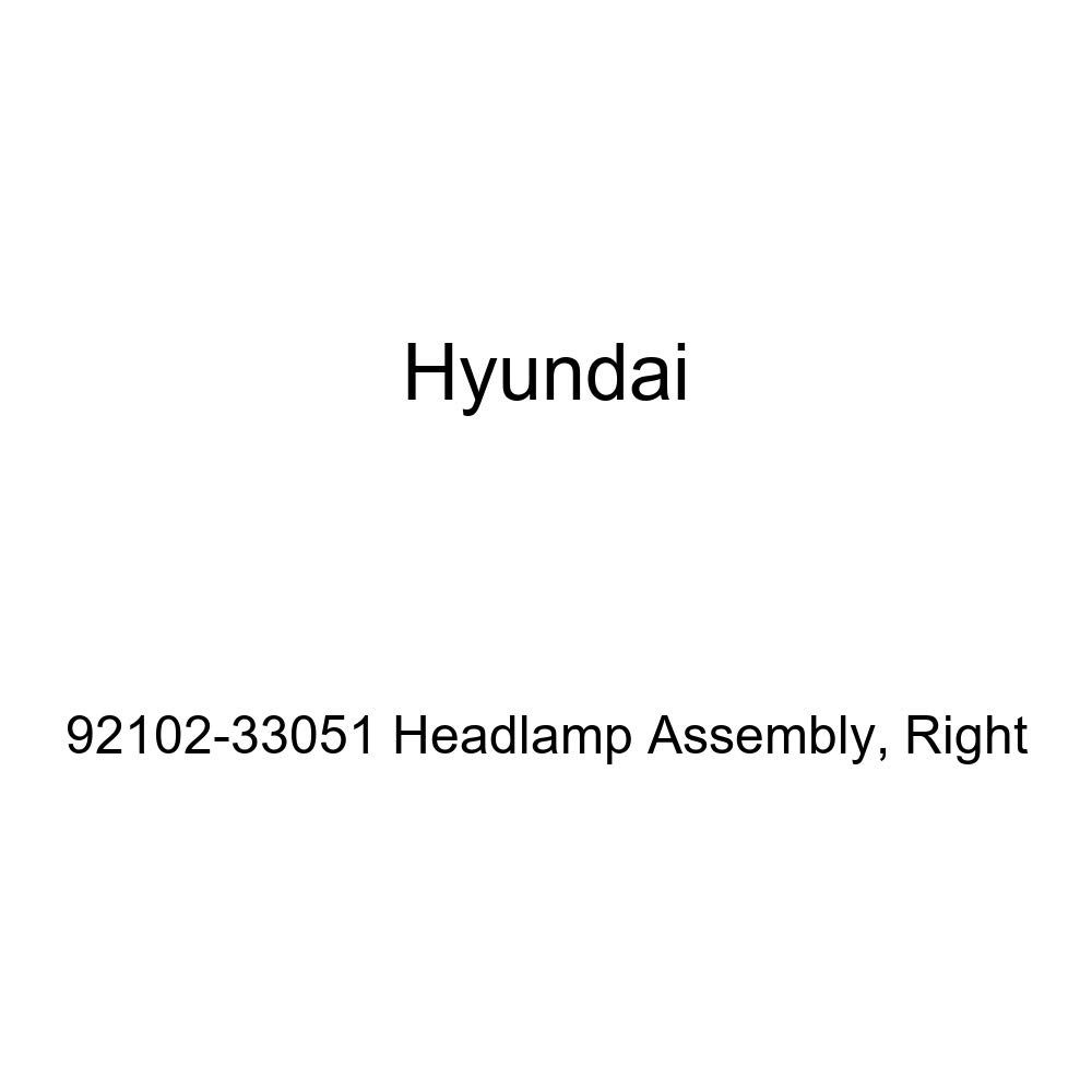 Genuine Hyundai 92102-33051 Headlamp Assembly Right