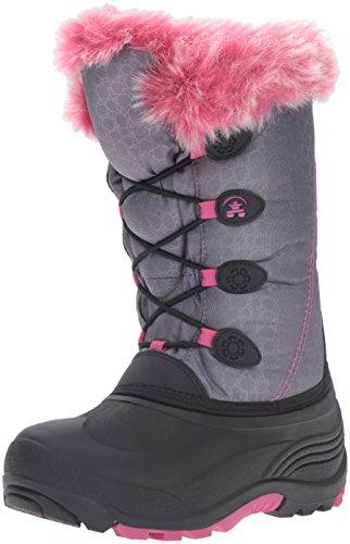 Kamik Snowgypsy Boot (Toddler/Little Kid/Big Kid) Grey/Magenta