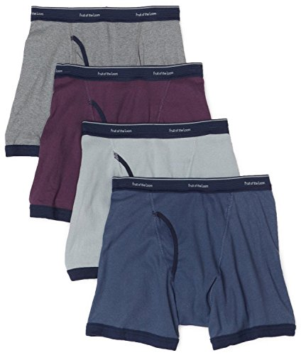 n's No Ride up Boxer Brief Multipacks, Colors May Vary (Assorted, XX-Large) ()