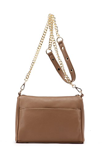 Farrow Apricot MKF Bag K Arlene Zippered Handbags Triple Strap Crossbody Chain Pocket Mia Collection by w6ACxqnR