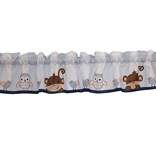 Bedtime Originals Mod Monkey Window Valance