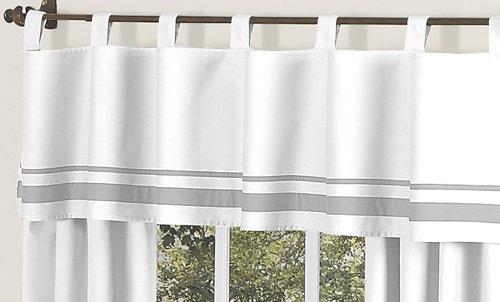 Amazoncom Sweet Jojo Designs 9Piece Contemporary White and