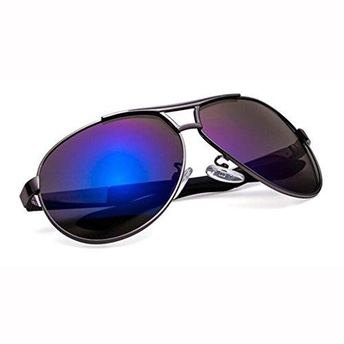 lunettes soleil randonneur de Lunettes lunettes de de noires nouvelles UV400 soleil soleil B soleil de de Gun soleil protection lunettes pare cadeaux hommes de de lunettes lunettes de soleil Blue Frame; protecti soleil wqOT0