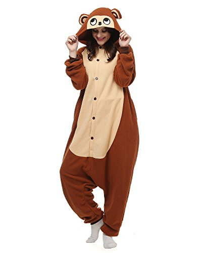 879b66b0e72e Adults Onesies - Animal Women Mens Brown Monkey Onesie Costumes Cosplay  Outfit Pajamas X-Large - Buy Online in UAE.