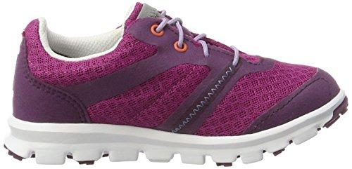 Viking Maverick Gtx, Zapatillas de Deporte Exterior Unisex Niños Pink (Plum/Dark Pink)
