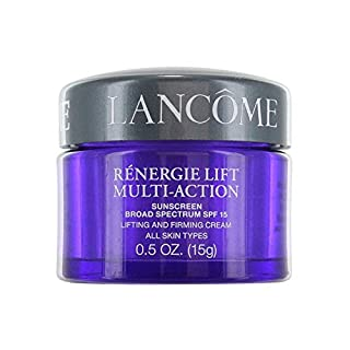 Renergie Lift Multi-Action Sunscreen Broad Spectrum SPF 15 Lifting and Firming Cream All Skin Types 0.5 OZ.(15g)