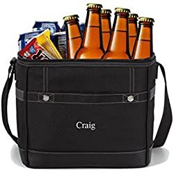 Personlized 12-Pack Cooler Tote - Custom Cooler Bag - Personalized Cooler Bag - Monogrammed Cooler Tote