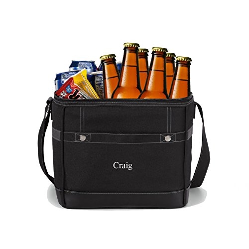 Personalized 12-Pack Cooler Tote – Custom Cooler Bag – Personalized Cooler Bag – Monogrammed Cooler Tote