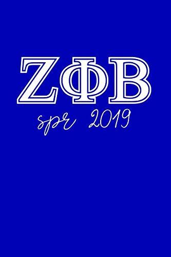 SPR 2019: Journal: Zeta Phi Beta 1920 notebook for soror; ZPHI sisterhood exchange for future soror
