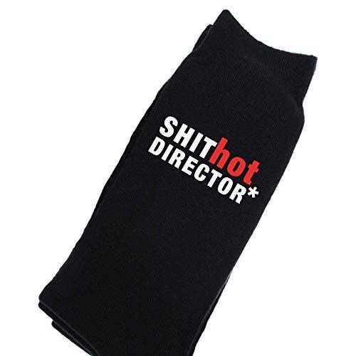 D Director Mierda de Hombres caliente Calcetines negros becerro 0SCqfw0r