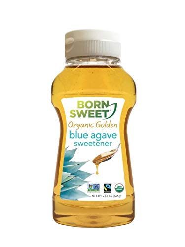 Born Sweet Organic Golden 100% Blue Agave Sweetener - 23.5 oz by Born Sweet