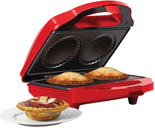 Holstein Housewares HF-09016R Fun Mini Pie Maker - Red