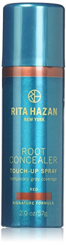 (Root Concealer-Rita Hazan- Touch Up Spray-Red- Cover Up Gray 2 Oz)