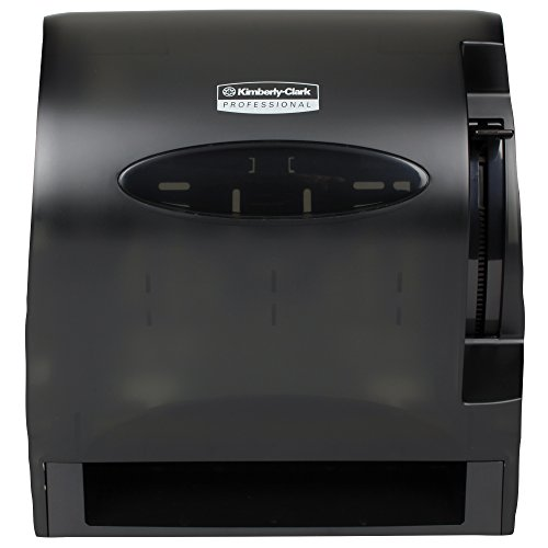 kimberly-clark-levermatic-roll-paper-towels-dispenser-09765-manual-smoke-black