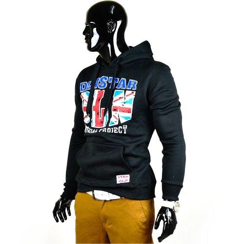 Uomo Nero Jack Union Id580 vari Felpa Colori UUCfwz