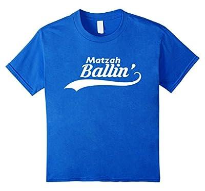 Jewish Matzah Ballin' Funny T-Shirt Passover Matzo