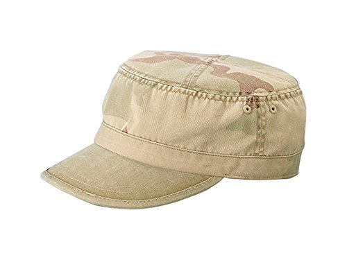 (TOP HEADWEAR Enzyme Washed Camouflage Cap - New Desert)