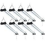 Sunco Lighting 8 Pack Industrial LED Shop Light, 4