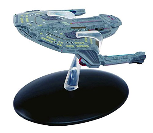Star Trek Starships Saber Class Die-Cast Metal Vehicle with Collector Magazine (Diecast Metal Ship)